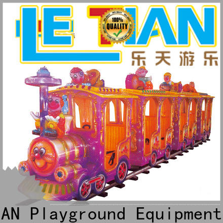 LETIAN New amusement park train for kids park playground