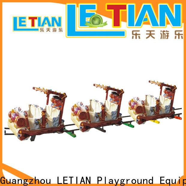 LETIAN Latest Kids Train Supply park playground