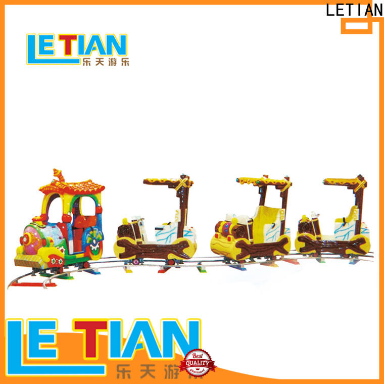 LETIAN New train theme park for business park playground