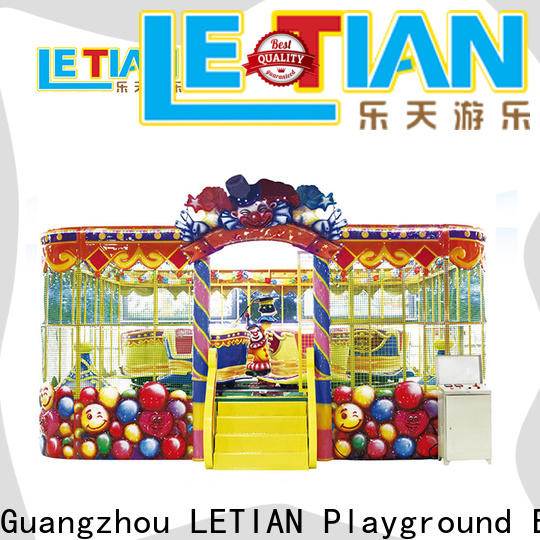 LETIAN mechanical thomas the train theme park manufacturer park playground