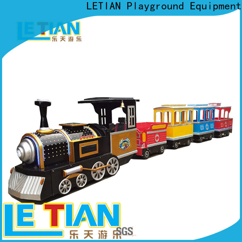 LETIAN chasing small ride on trains children's palace