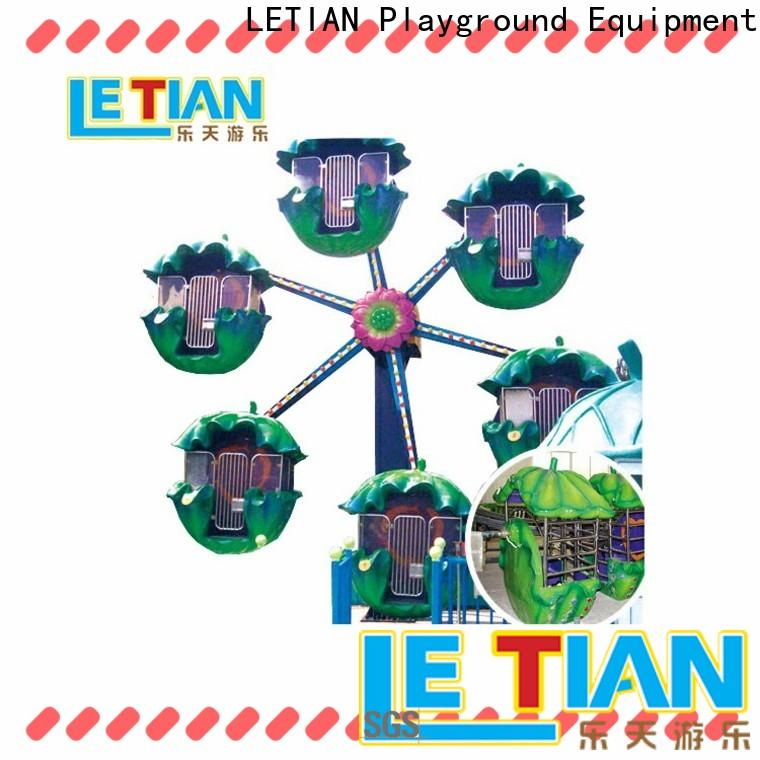 LETIAN doublesided fair ferris wheel company playground