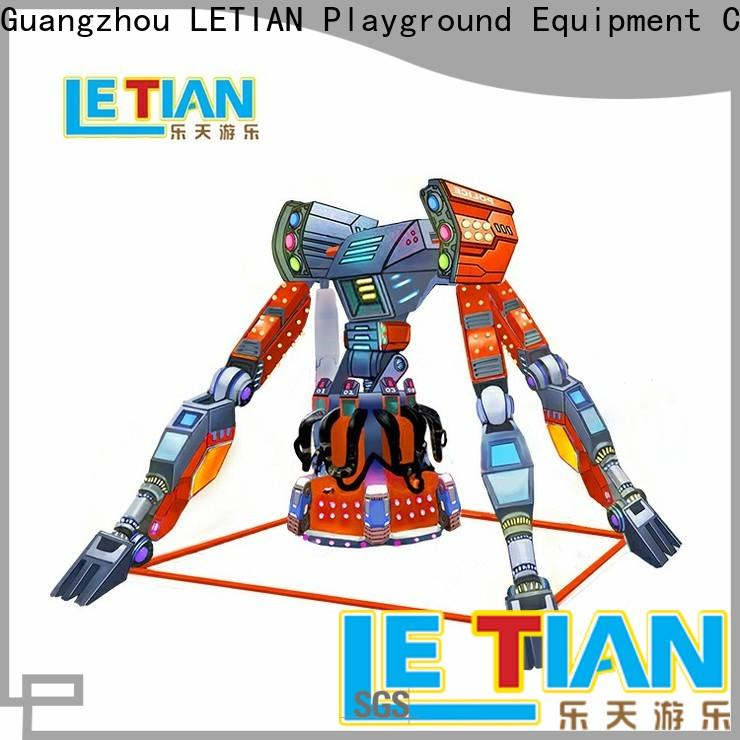 LETIAN reinforced extreme thrill rides supplier theme park