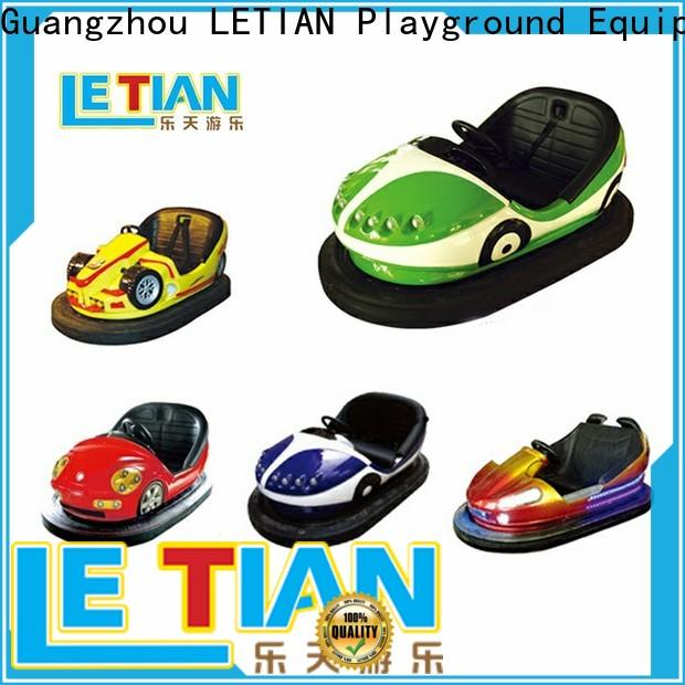 LETIAN round how do bumper cars work for kids entertainment