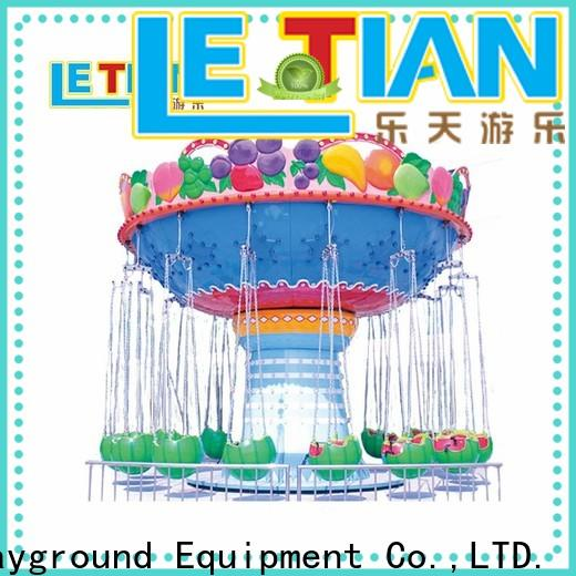 LETIAN High-quality carnival swings carousel theme park