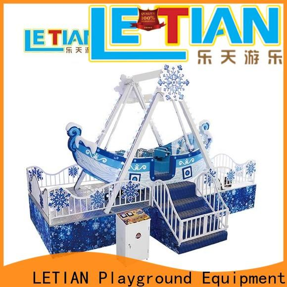 LETIAN pirate kiddy ride tourists carnival