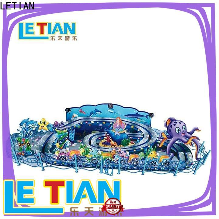 LETIAN interesting cup ride facility playground