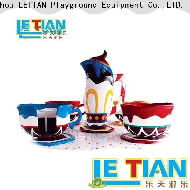 LETIAN jumping cup ride factory playground