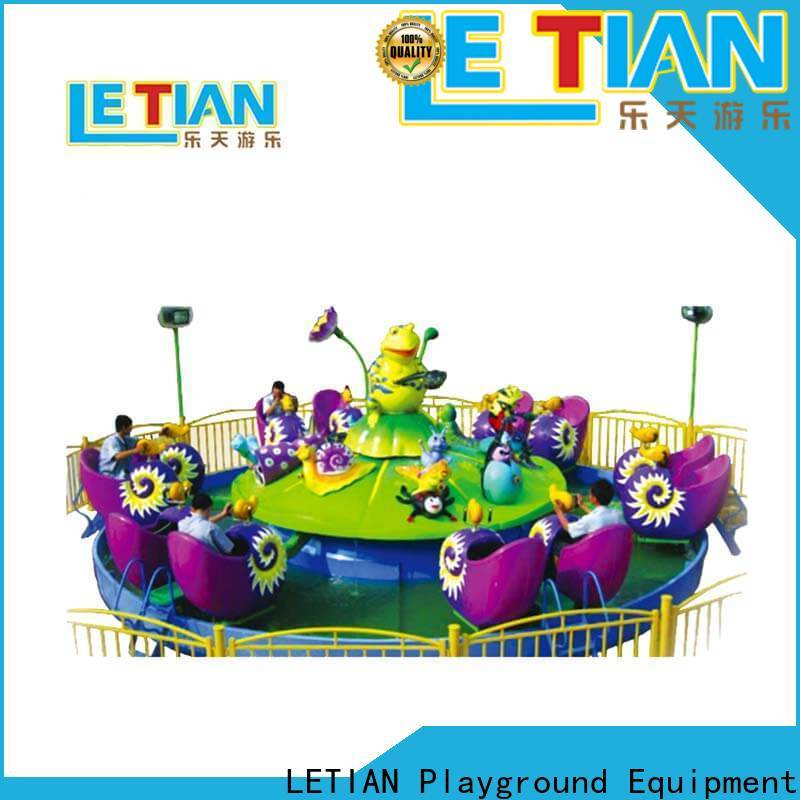 LETIAN amusing spinning teacup ride wholesale entertainment