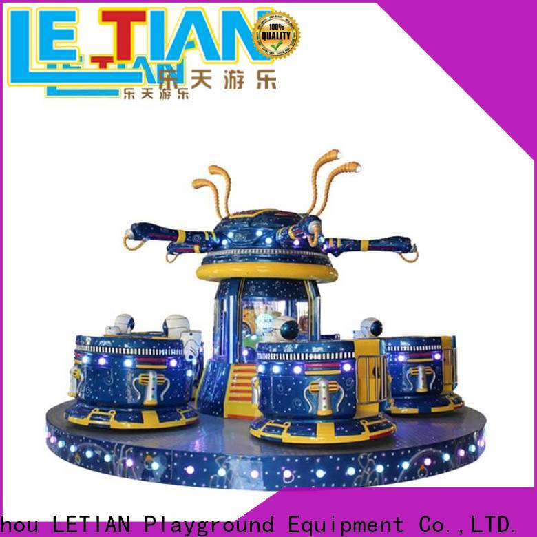 LETIAN electric outdoor playground equipment facility amusement park