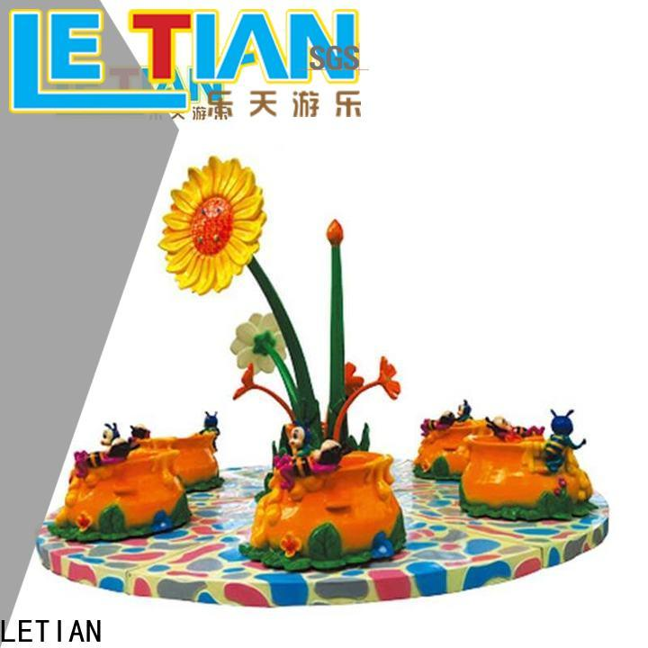 LETIAN coffee spinning cup factory entertainment