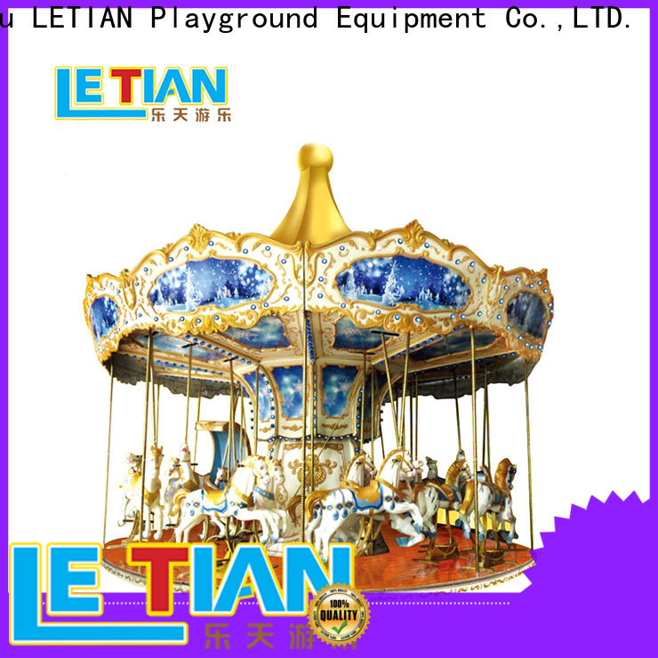LETIAN carousel ride for kids shopping centers