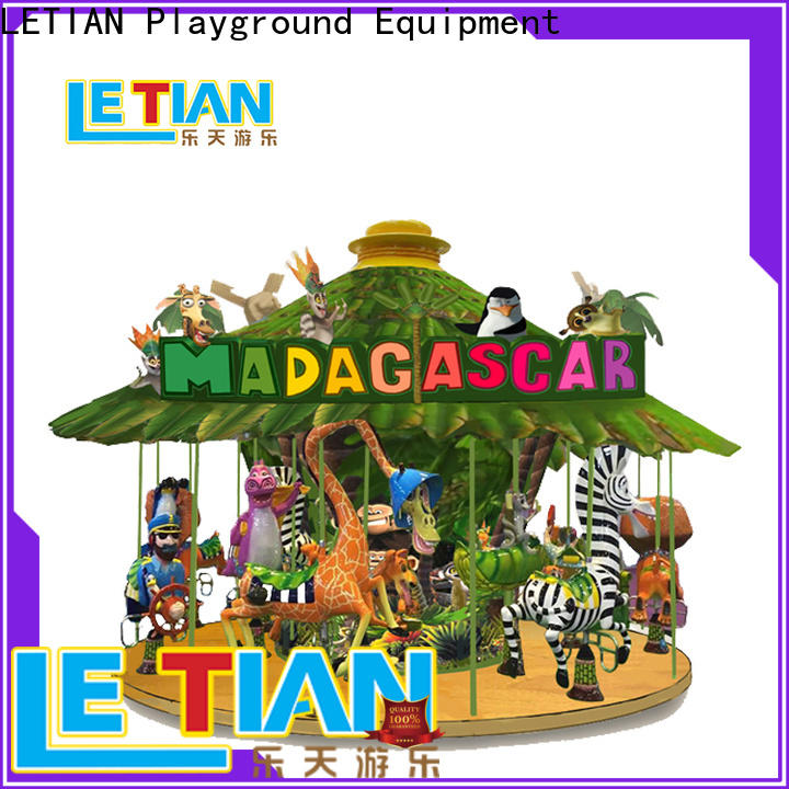 LETIAN sale carousel ride factory shopping centers