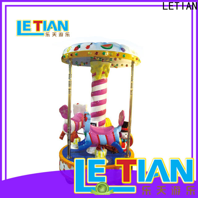 LETIAN Wholesale carousel for kids Supply shopping centers