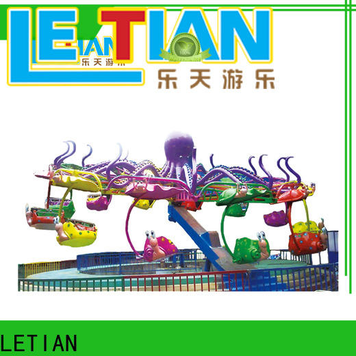 LETIAN made funfair rides factory playground