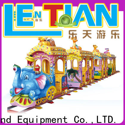 mechanical small ride on trains chasing company children's palace