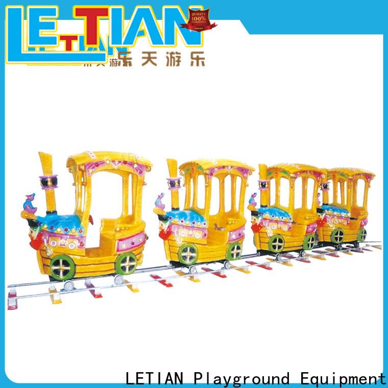 LETIAN lt7077a train theme park Supply life squares