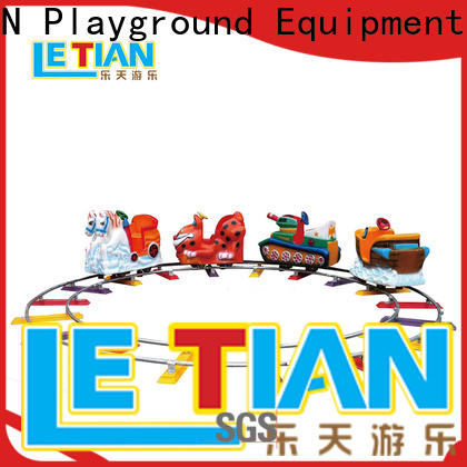 LETIAN Custom themed train rides factory park playground