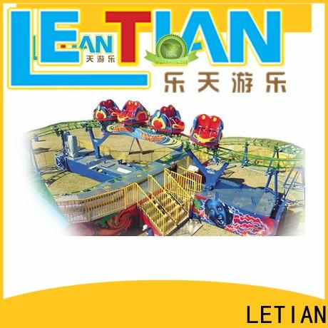 LETIAN Custom famous roller coasters Supply playground