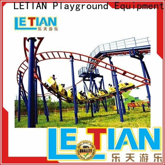 LETIAN Factory made a roller coaster game for children carnival