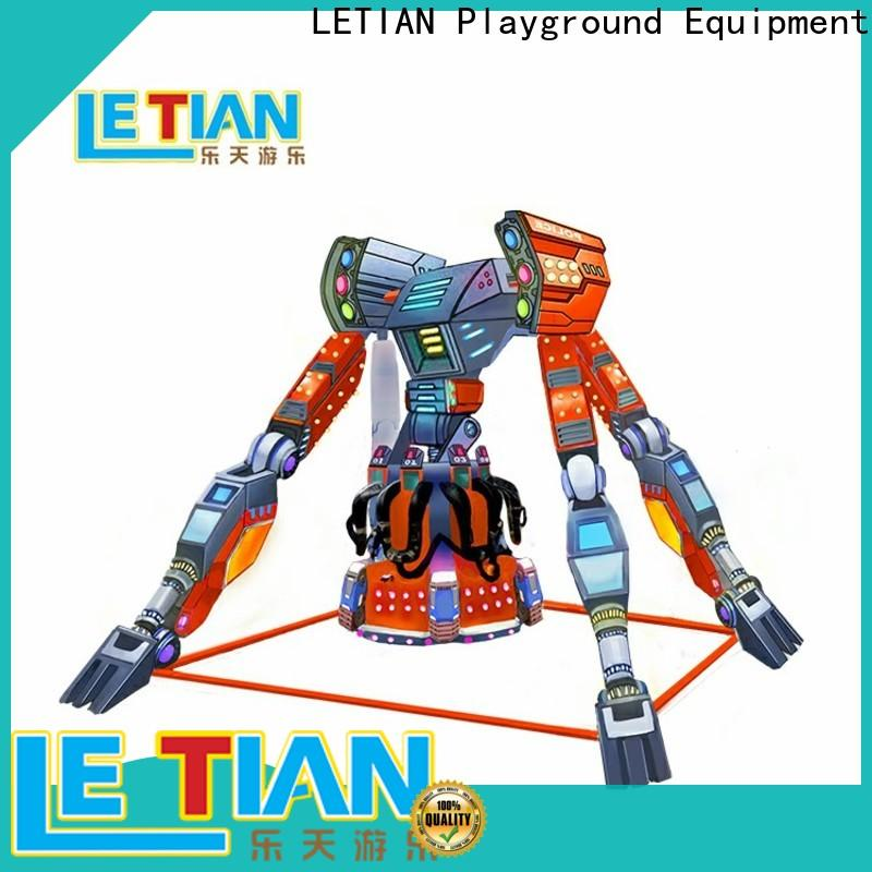 LETIAN made extreme thrill rides factory playground
