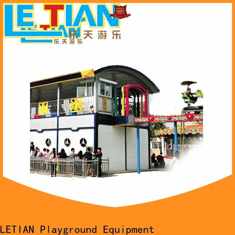 LETIAN family fun roller coaster games manufacturers playground