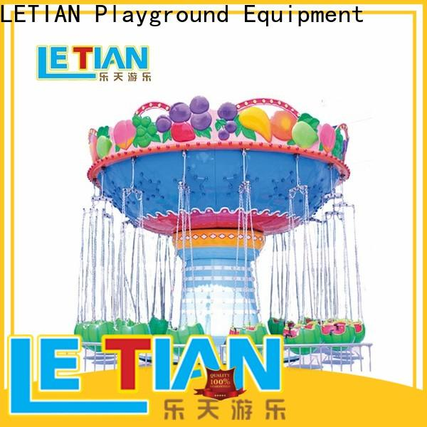 LETIAN amusement swing ride customized theme park