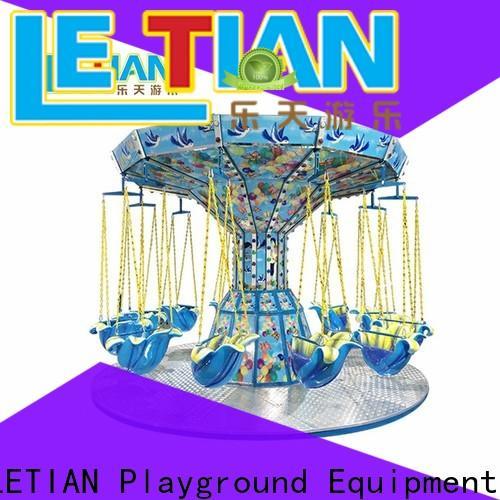 LETIAN Wholesale carnival swings design theme park