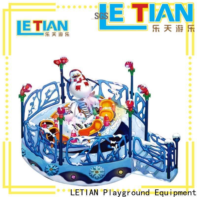 LETIAN snail cup ride factory theme park