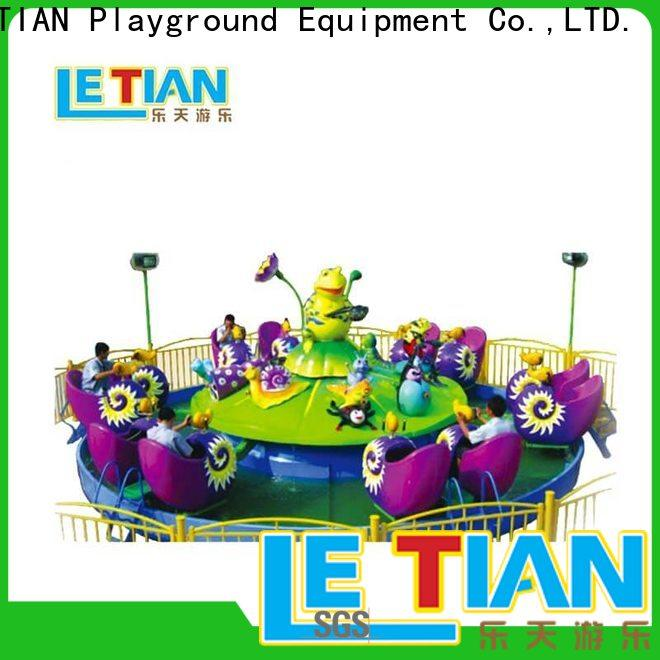 LETIAN rotating spinning teacup ride factory playground