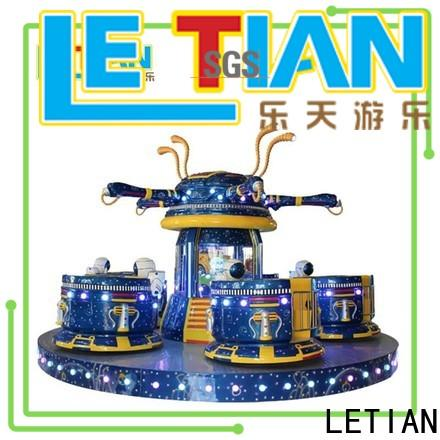 LETIAN rotating cup ride facility amusement park