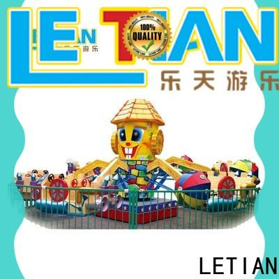LETIAN stable fairground rides for child life squares