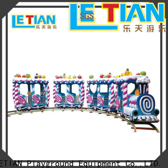 LETIAN High-quality orbit train for kids life squares
