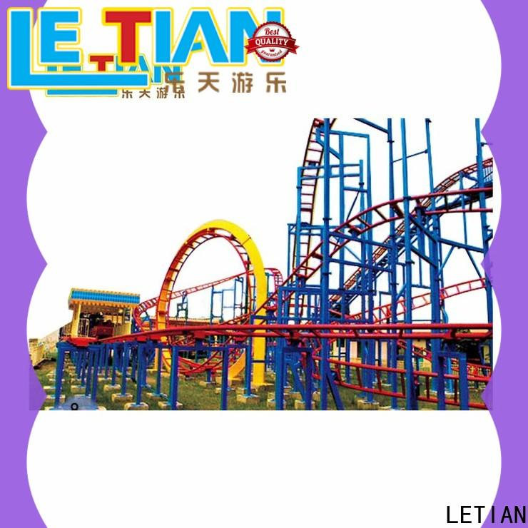 LETIAN surfing interactive roller coaster builder company carnival