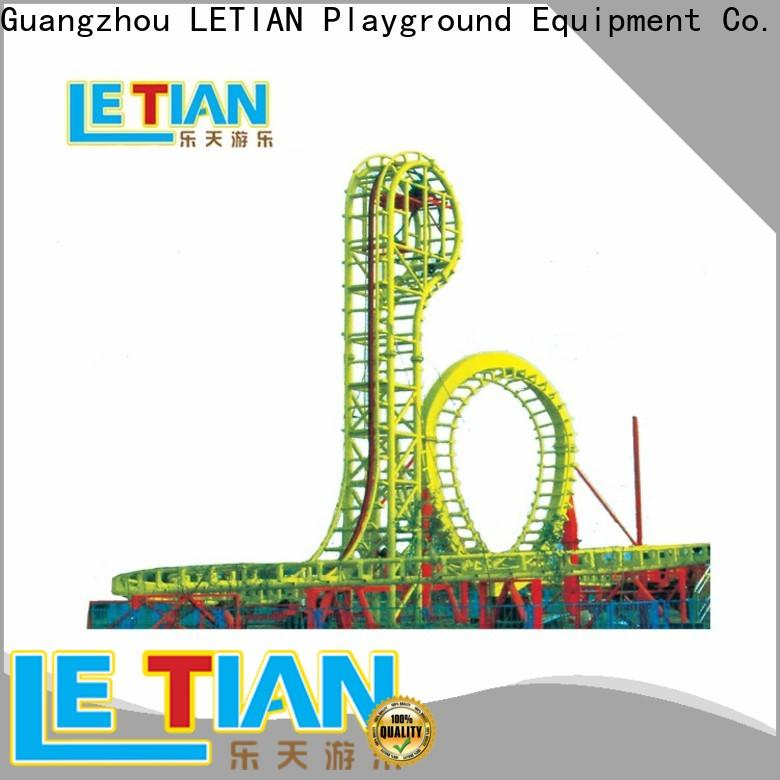 LETIAN High-quality roller coaster theme parks for children playground