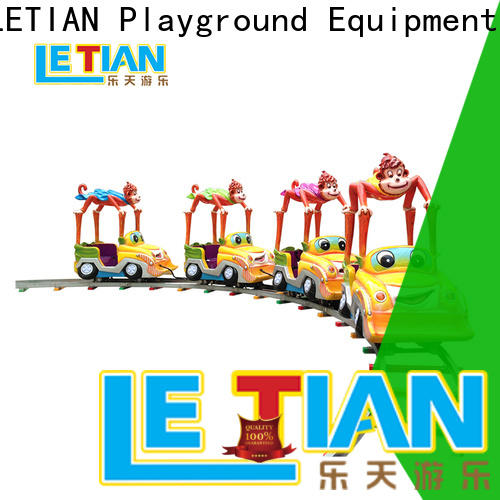 LETIAN mechanical amusement train factory children's palace