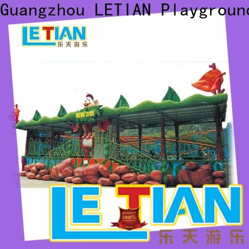 LETIAN unique water roller coaster factory theme park