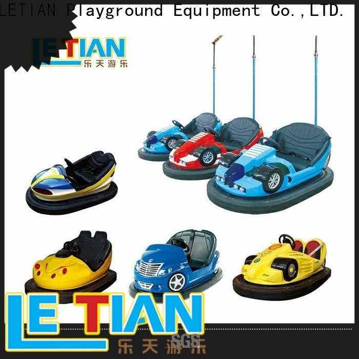 LETIAN kids bumper car ride factory amusement park