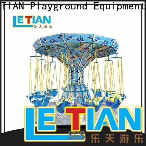 LETIAN flying amusement park swing ride zoo