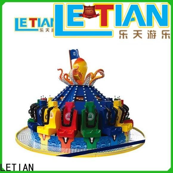 LETIAN snail spinning teacup ride facility entertainment