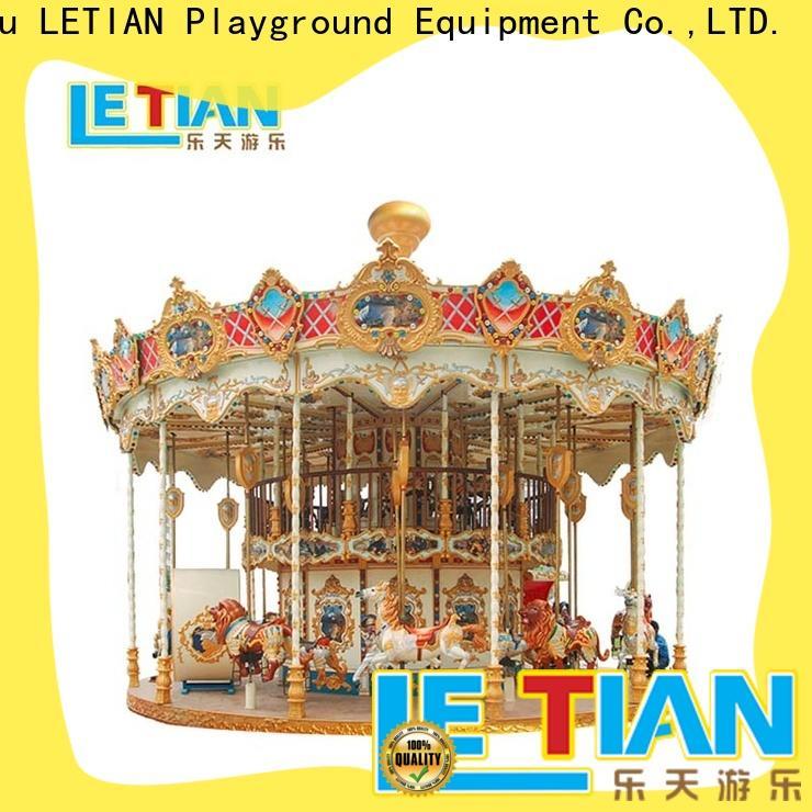 LETIAN music carousel ride Supply theme park