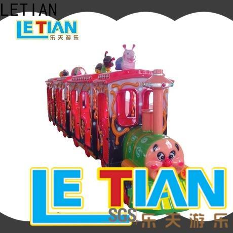 LETIAN amusement park train rides Suppliers mall