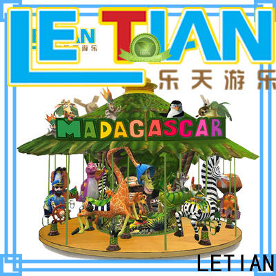 LETIAN round the childrens carousel Supply carnival