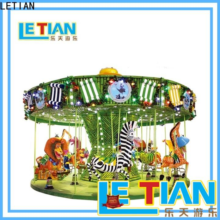 LETIAN Top small carousel for sale manufacturers fairground