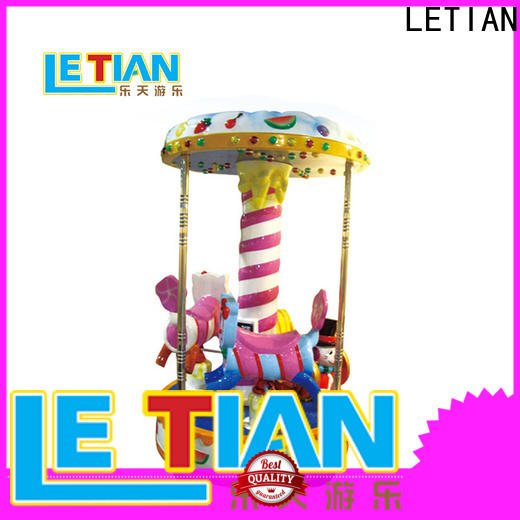 LETIAN New mini carousel ride for sale manufacturers theme park
