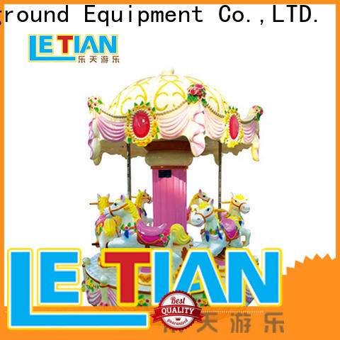 Latest small carousel for sale lt7034a supplier shopping centers