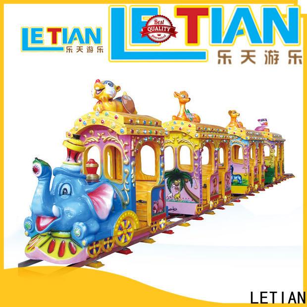 LETIAN mechanical amusement train for sale park playground