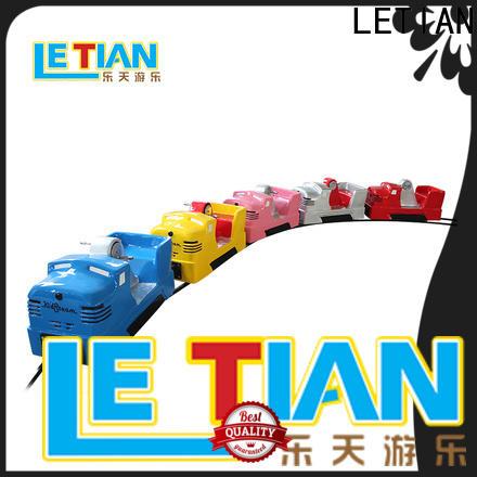 LETIAN High-quality amusement park train rides China park playground