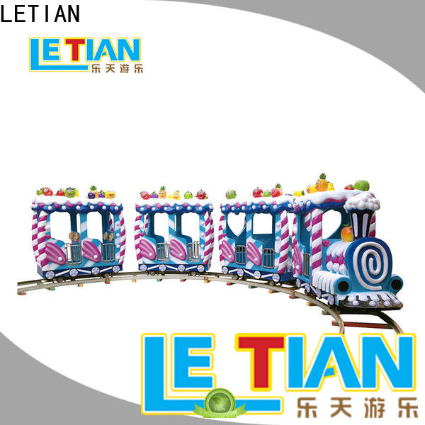 LETIAN animal trackless train for business life squares