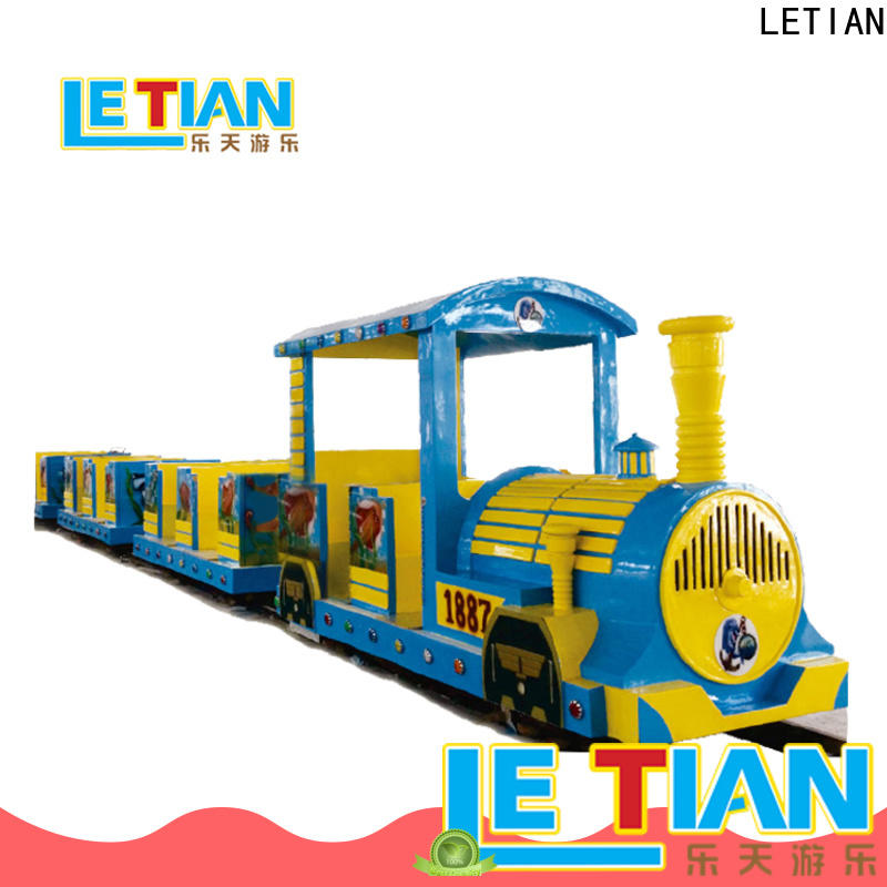 LETIAN sea carnival train ride for sale children's palace
